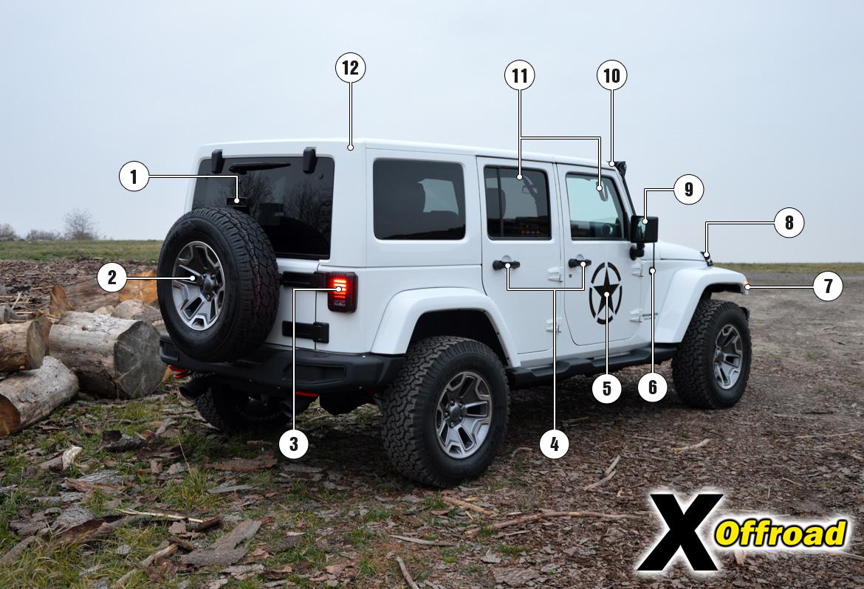 jeep wrangler unlimited jk x offroad. Black Bedroom Furniture Sets. Home Design Ideas