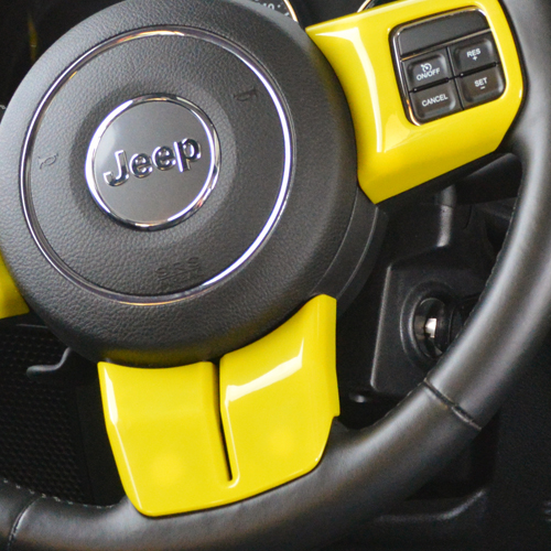 Jeep® Wrangler JK Interior Trims
