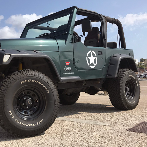 Jeep® Restocked Accessories